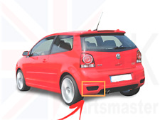 VW POLO GTI CUP 05-10 NEW GENUINE REAR BUMPER GRILL TRIM LEFT N/S JNV853667 9B9
