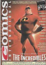 Comics International #178 The Incredibles (2004) UK Magazine