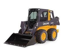 NEW John Deere 320E Skidsteer Loader, Die-Cast Metal Replica 1/16 Scale TBE45461