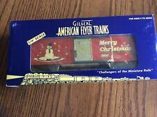 AMERICAN FLYER 2002 CHRISTMAS BOX CAR,6-48346 NIB