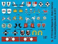 Peddinghaus 1//144 German U-Boat Submarine Conning Tower Markings WWII No.2 3447