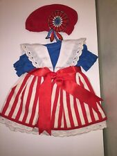 Dress Doll Costume robe Poupée Corolle commémoration Revolution 1789