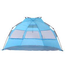 Outsunny  Tente de plage abri de plage XXL pliable dim. 2,50L x 1,40l x 1,40H m
