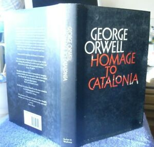 George Orwell Homage to Catalonia  Secker Warburg COMPLETE EDITION 1986 SCARCE