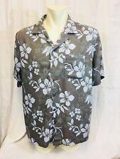Hunt Club Hawaiian Shirt. Mens. XL. Rayon. Very Good.