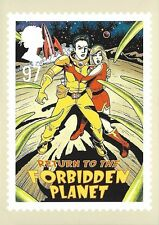 ROYAL MAIL STAMP POSTCARD<>MUSICALS<>RETURN TO THE FORBIDDEN PLANET  ~