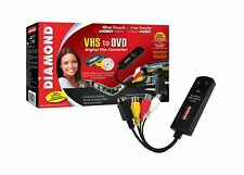 Diamond VC500 USB 2.0 One Touch VHS to DVD Video Capture Device with Easy to ...
