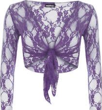 Altri maglie da donna floreale elasticizzato