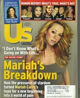 US Magazine August 13 2001 Mariah Carey Catherine Zeta-Jones
