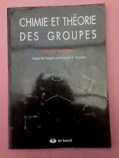 Chimie et théorie des groupes Paul-H Walton Edts DE BOECK 2004 UNIVERSITÉ