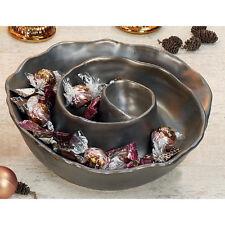 Hoff Interieur Schale Tosca Dekoschale Porzellan kupfer 26cm für Süßigkeiten