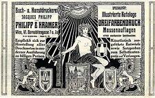 Libro-u. kunstdruckerei Philipp & Kramer Viena c.1911