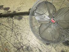 Dayton Exhaust Fan 24 Fan With Mount Motor 6k403c 14hp 1ph 115v 45a Used