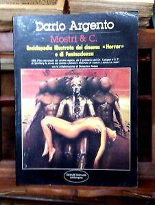 "Mostri & C. Enciclopedia ""Horror"" e Fantascienza - Dario Argento -  Anthropos,"