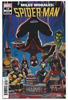 Miles Morales Spider-Man #18 2020 Unread Ron Lim Birthday Variant Marvel Comics