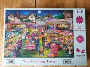 HOP No13 Village Fair 1000 Piece Jigsaw