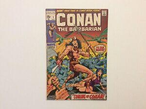 Marvel Conan The Barbarian #1 Graded 4.5 1970