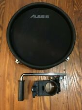 "Alesis 8"" Mesh Drum Pad w/sensitivity knob NEW (Dual Zone) +1.5"" Clamp DM10 MKII"
