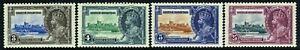 SG 143-146 BRITISH HONDURAS 1935 SILVER JUBILEE SET - MOUNTED MINT