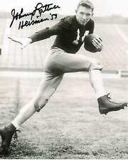 "Johnny Lattner Signed 8"" x 10"" Photo Notre Dame Heisman"