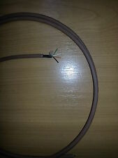 15m Brick Brown External 2 pair 4 wire Telephone Cable Spec CW1412 Genuine BT