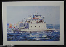 16 Washington State Ferry The Islander Fine Art Note Cards by Marshall Johnson