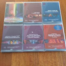 Star Trek 6 Movie Collection 1 - 6 Directors, Special Editions