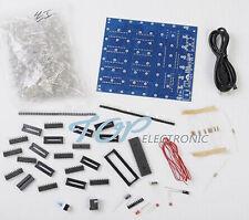 3D LightSquared DIY Kit 8x8x8 3mm LED Cube Yellow Ray LED