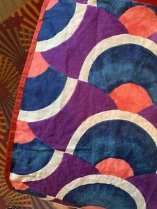 Anthropologie Papunya Euro Sham Multi Color Deco Boho $68.00