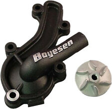 Boyesen Hy-Flo Water Pump Cover & Impeller Kit - Black WPK-09B