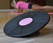 Balance-Brett Board ø ca. 39,5 cm mit Adapter für 2 Schwierigkeitsgrade Fitness