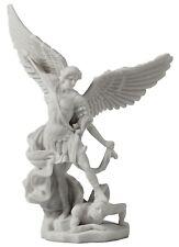 Archangel Saint Michael Slayign Demon Statue Sculpture Religious Decoration Gift