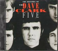 THE HISTORY OF DAVE CLARK - FIVE 2 CD+GIFT 50 Tracks Jewel Case 36 Page Booklet