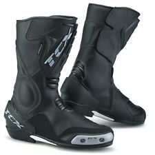 TCX Mens SS Sport Motorcycle Race Boots Black EU 40/US 7