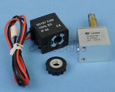 """DC 12V 1/8"""" Inch Electric Solenoid Valve Air Gas Water Normally Closed N/C"""