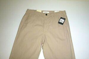 billy reid mens designer CHINO pant cotton KHAKI casual dress pants sz:30X34-tan