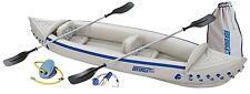 Sea Eagle 370 Deluxe Kayak Canoe + Pump + Oars + MORE!