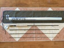 Orvis Recon 10ft 3wt 4pc 3100 1003-4 fly fishing rod w/tube (Use 3wt line reel)