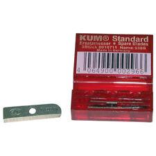 Kum 3 Tempered Steel Standard Spare Blades