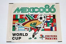 RARE RARO: PANINI WM WC MEXICO 86 1986 – 1 X BUSTA BUSTINA packet sobre