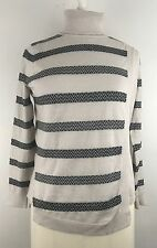 Karen Millen Wool Roll Turtle Neck Fine Knit Jumper UK 3 US Medium