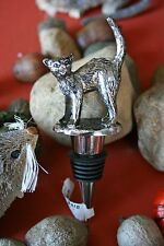 POTTERY BARN CAT BOTTLE STOPPER –NWT- A GREAT LITTLE ITEM FUR SOME BAR-TIME FUN!