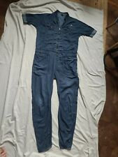 G Star M Med Blue Cotton Boiler Jump Suit All In One Zip Front Sexy Urban vgc