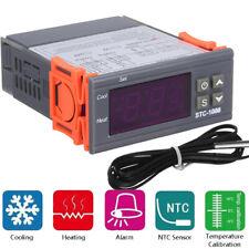 Digital Temperature Controller Thermostat Fahrenheit Control Relay Sensor C9a0