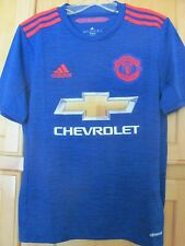Manchester United F.C. MUFC EPL adidas Authentic Jersey Size Youth L Soccer