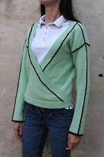 Donna 80s Kimono DIESEL Jumper 80s Verde Mohair A Maglia Top Wrap XS