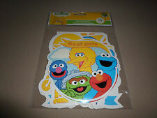 15 Piece Sesame Street Die-Cut Shapes, (Assorted Designs & Sizes) NEW IN PACKAGE
