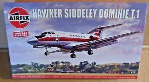 AIRFIX HAWKER SIDDELEY DOMINIE T.1 1:72 SCALE MODEL KIT TRAINER AIRCRAFT RAF