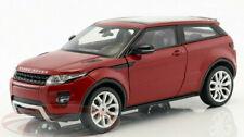 RANGE ROVER EVOQUE 1:24 Scale Diecast Model Toy Car Miniature RED