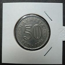 MALAYSIA 1985 PARLIMEN 50 CENTS COIN